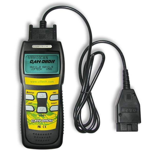 U581 CAN OBDII/EOBDII Memo Scanner (Live Data)